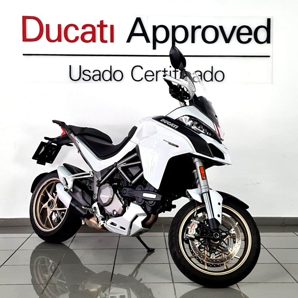 MULTISTRADA 1260S WHITE